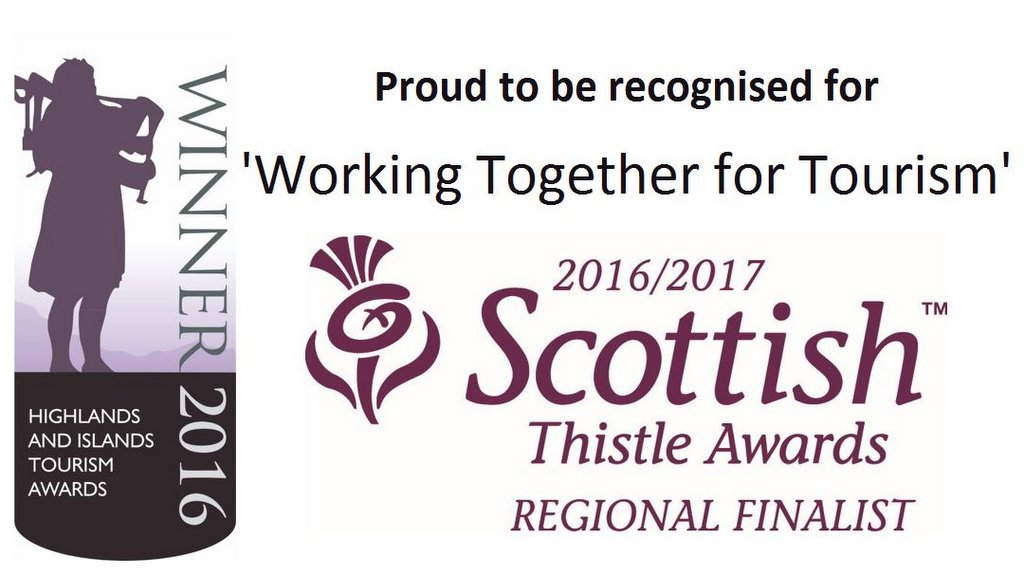 Winners and Regional Finalist in Scottish Thistle Awards