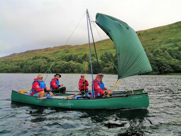 River to Sea canoeing in the West Highlands of Scotland