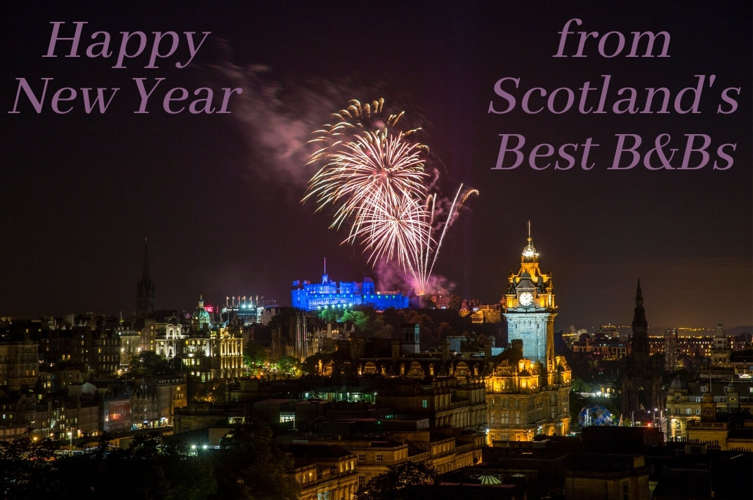 Happy New Year from Scotland's Best B&Bs