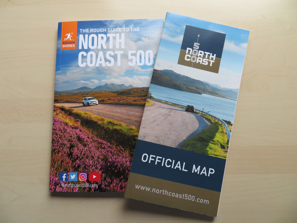 NC500 book and map