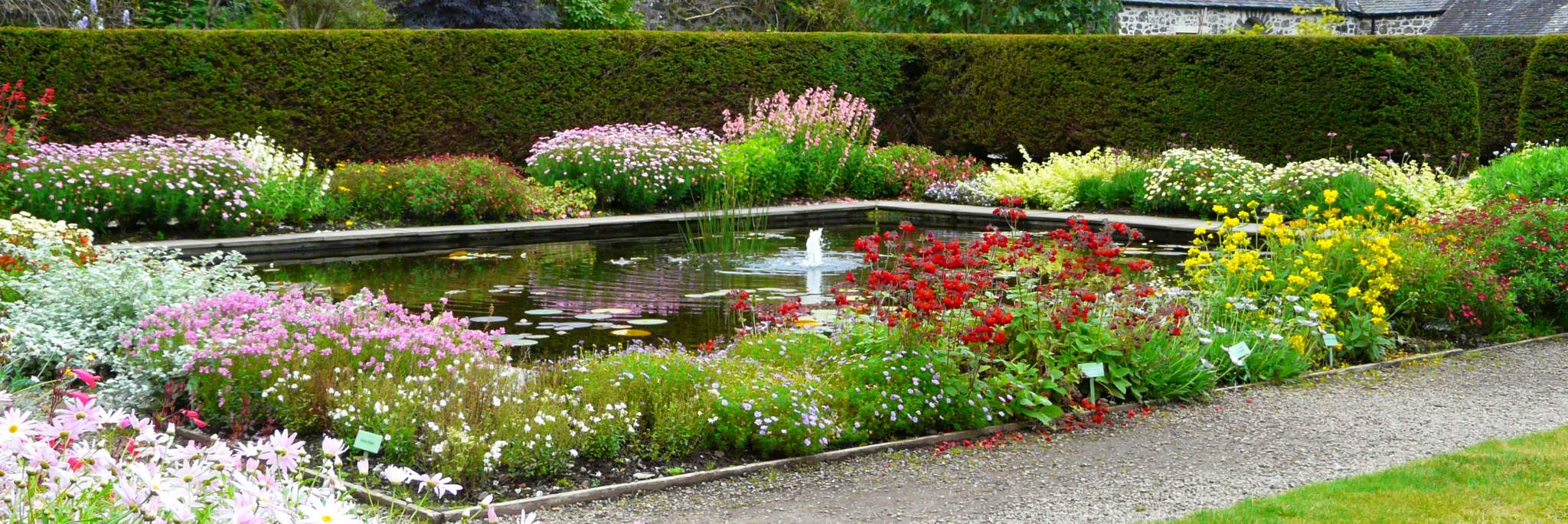 gardens in the highlands and the isle of skye